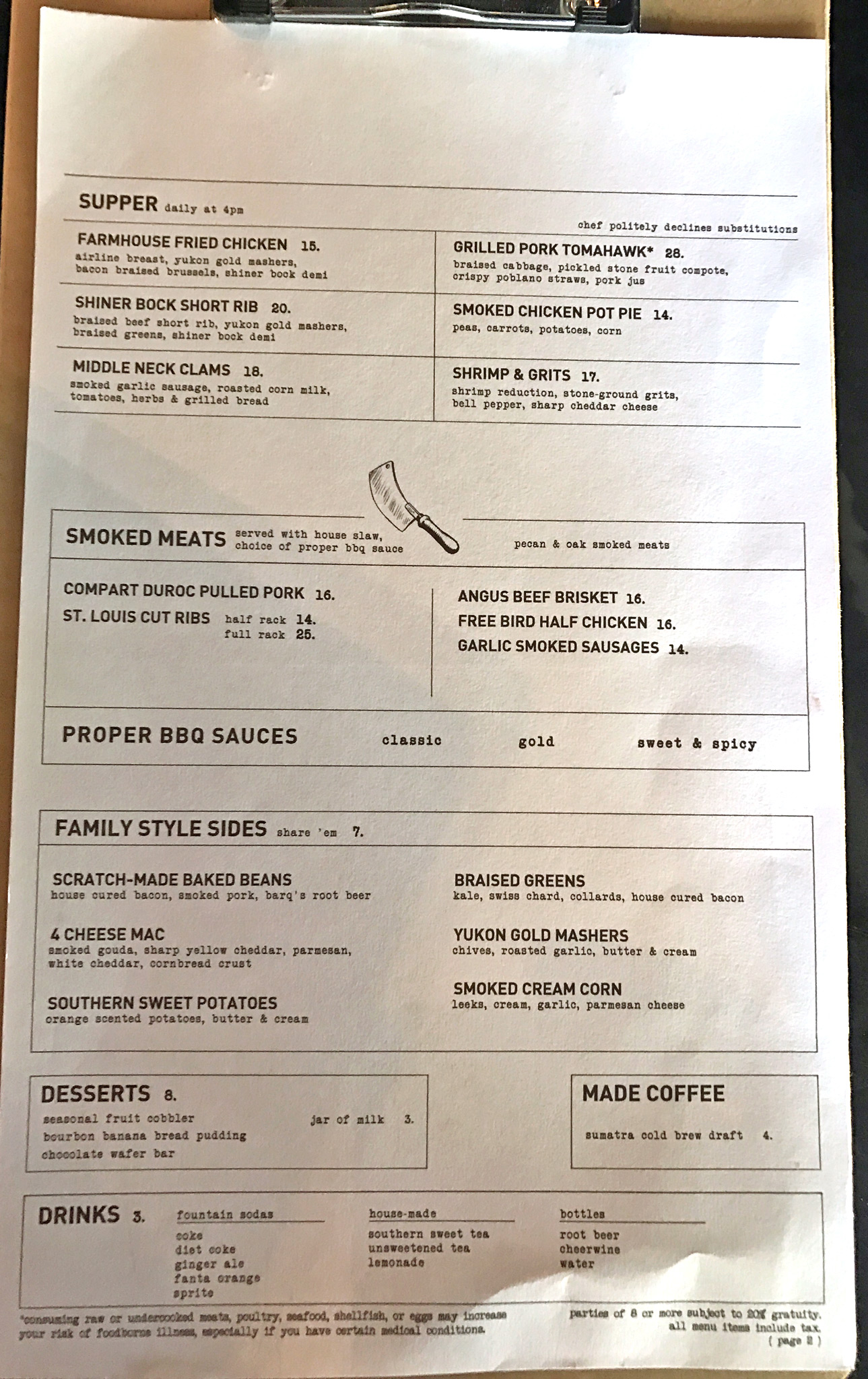 proper-supper-menu