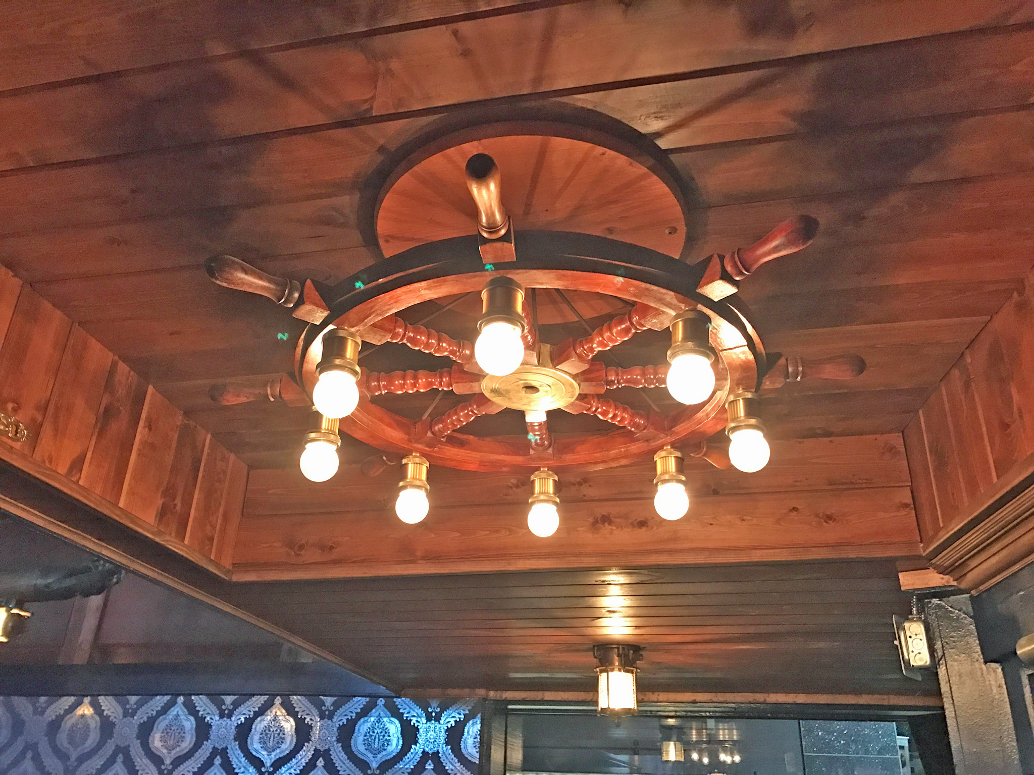 The Galley Nautical Theme Lights
