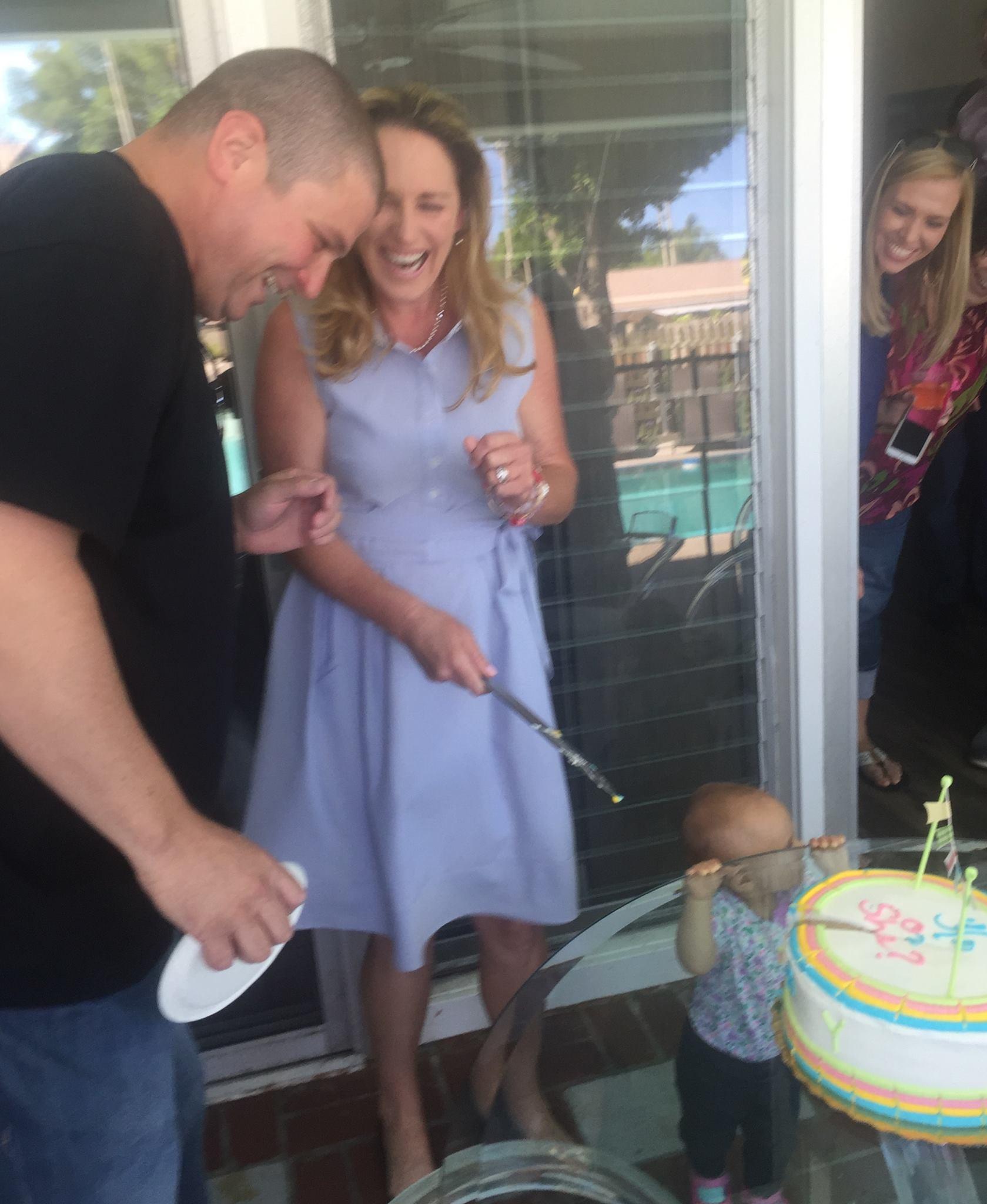The Pregnancy Announcement