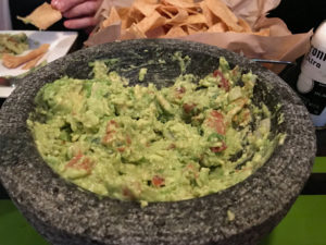 Made to Order Tableside Guacamole at Nueva Cantina
