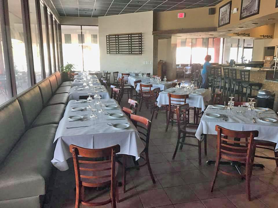 Spacco Italian Grill Interior