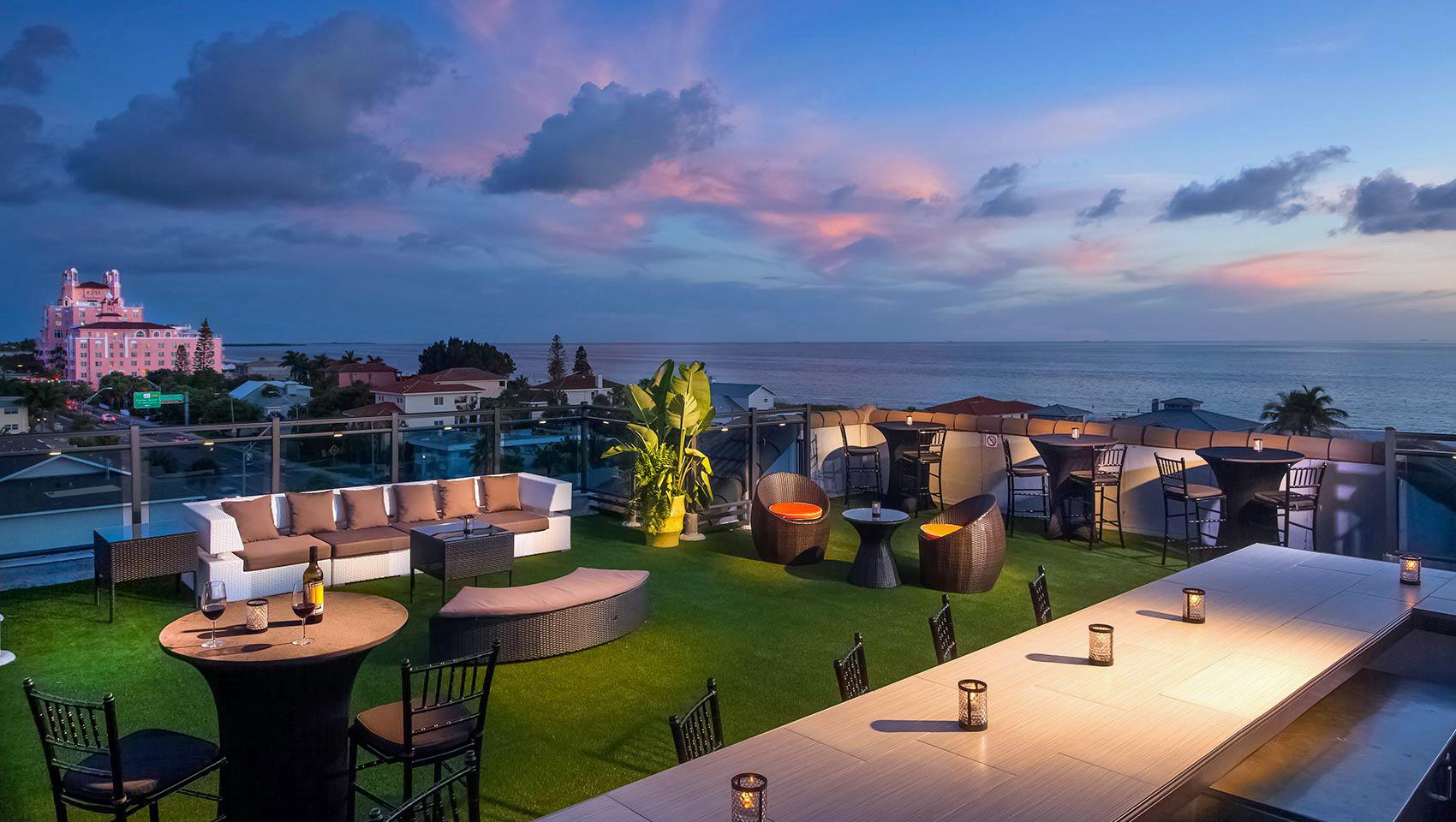 360 Rooftop at Hotel Zamora / Castile Restaurant
