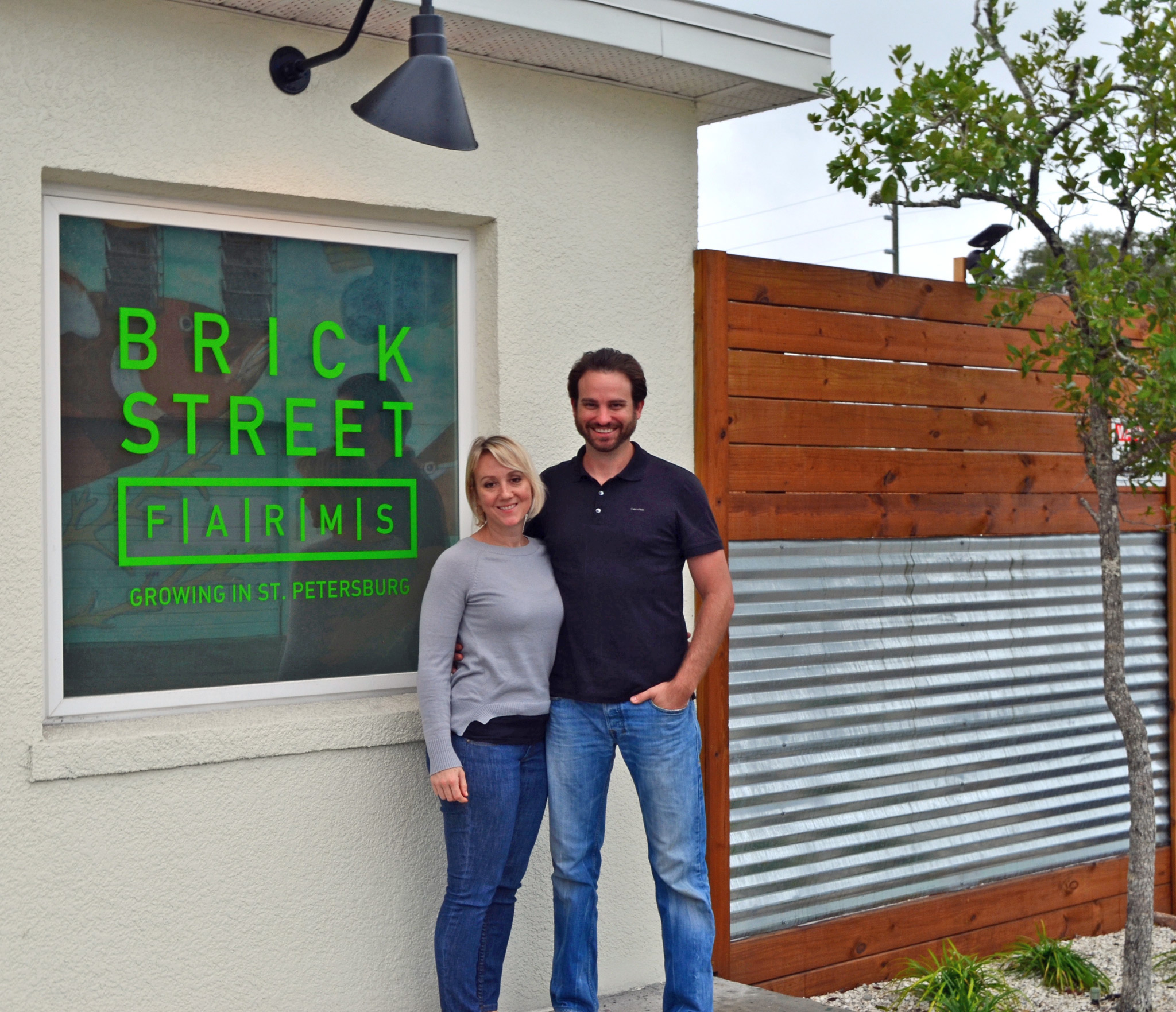 Brick Street Farm Owners Owners Shannon O'Malley & Bradley Doyle