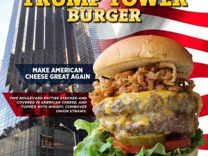 Trump Tower Burger at Boulevard Burgers