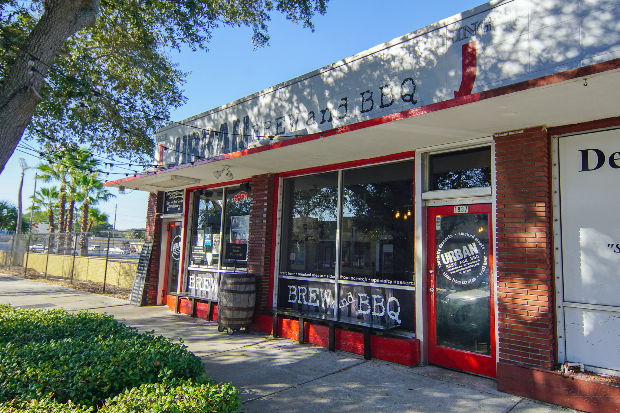 Urban Brew and BBQ Front