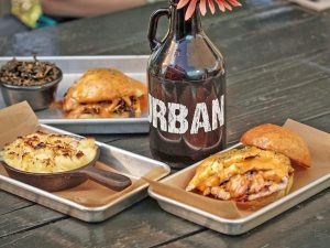 "Urban Brew & BBQ ""The Thing"", ""The Night Shift"" & ""Skillet Mac & Cheese"""