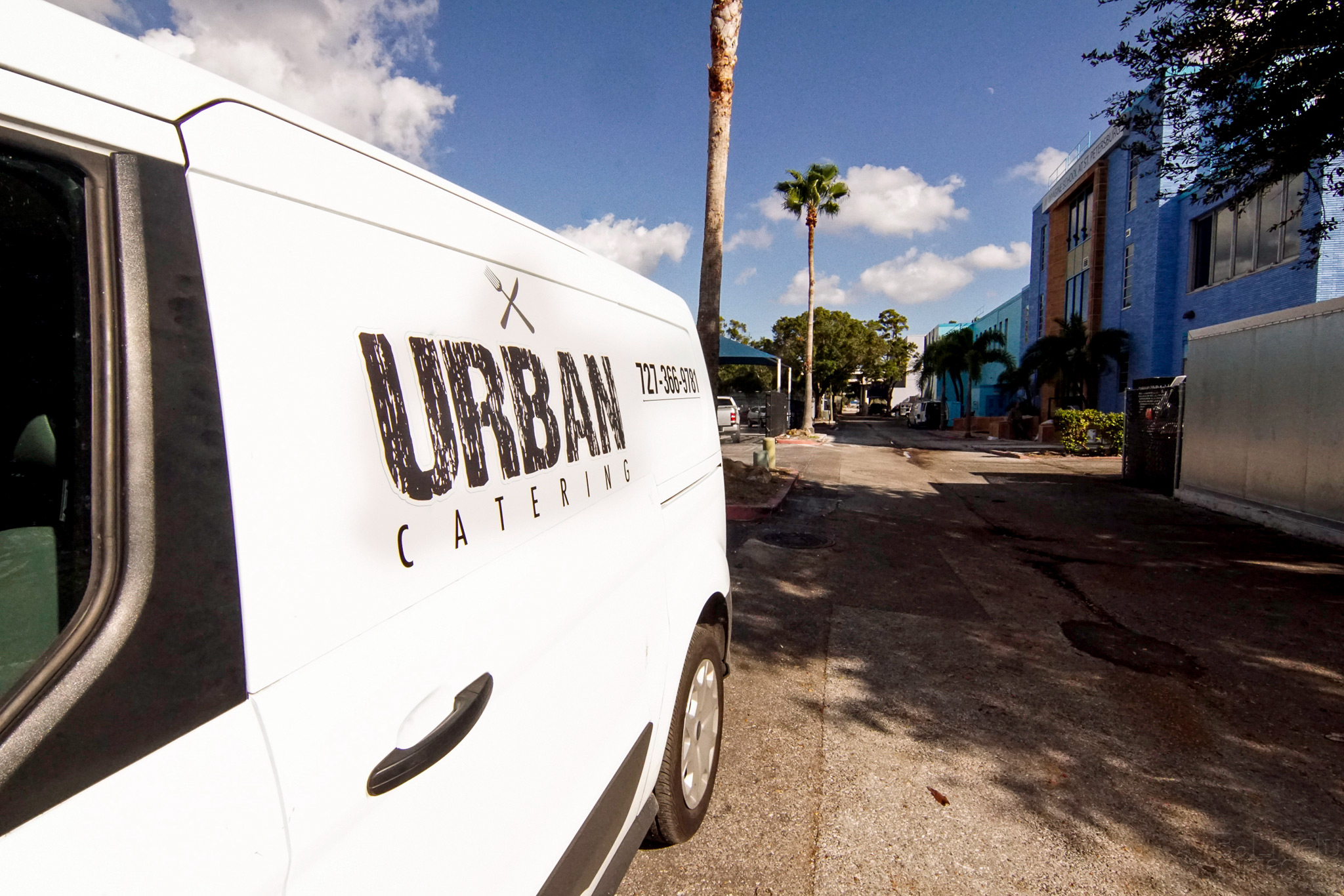 Urban Brew & BBQ Catering Van
