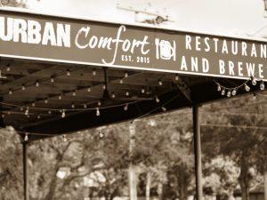 Urban Comfort Sign Exterior