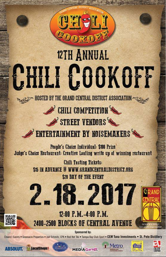 Grand Central Chili Cook-Off