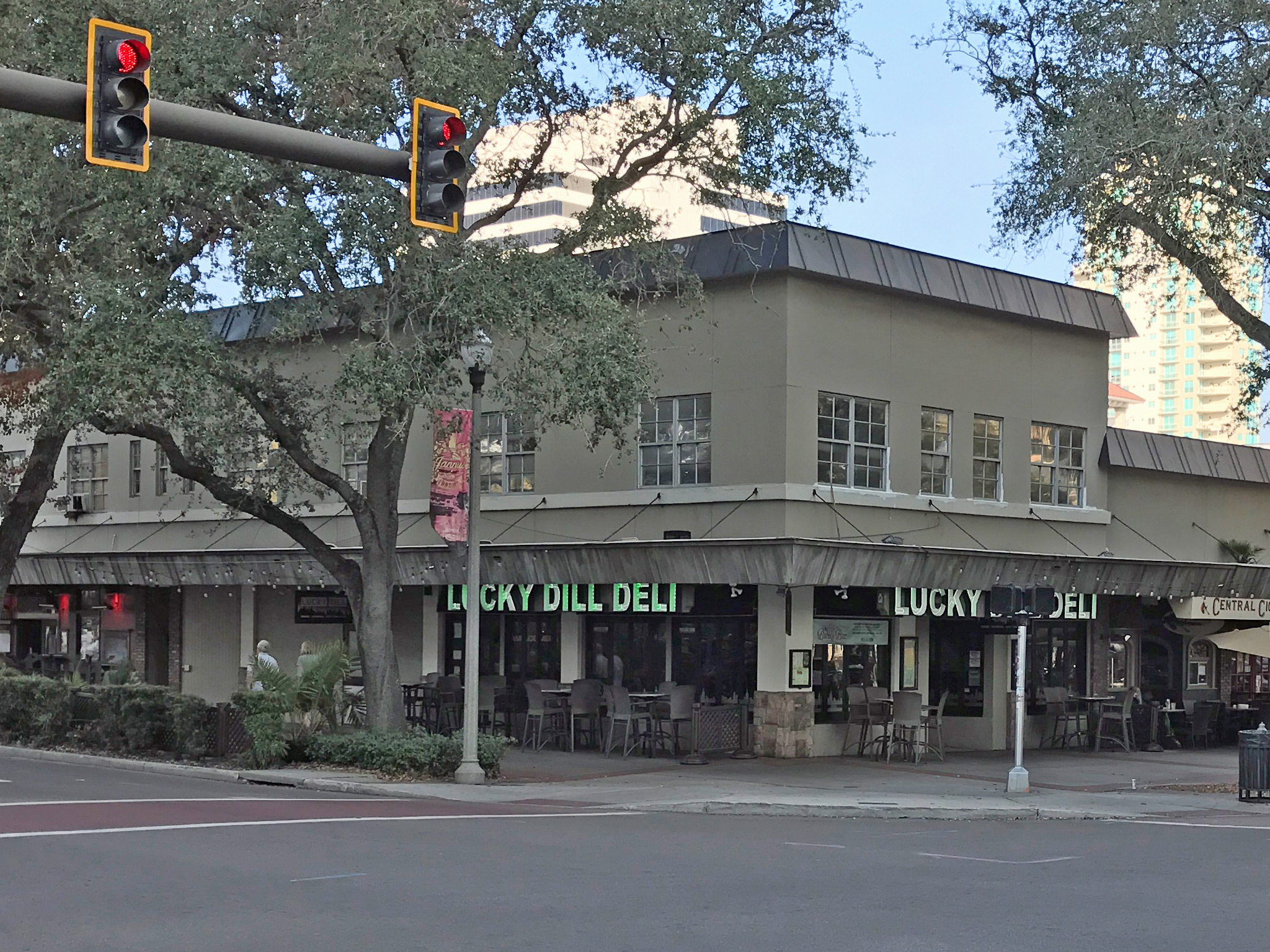 Notice the Large Second Floor of Lucky Dill That has Been Invisible in Plain Sight?