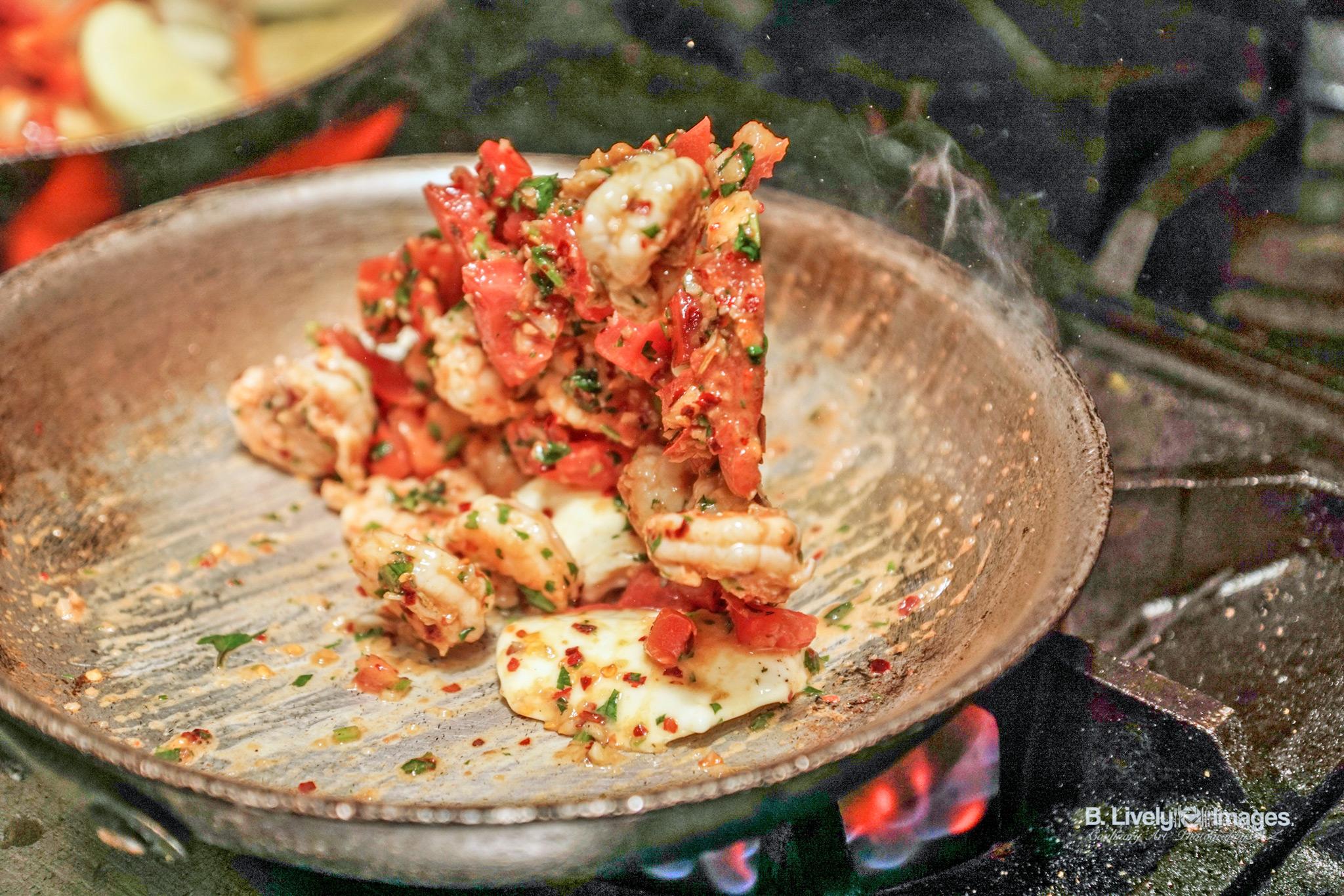 Shrimp al mojo de Ajo