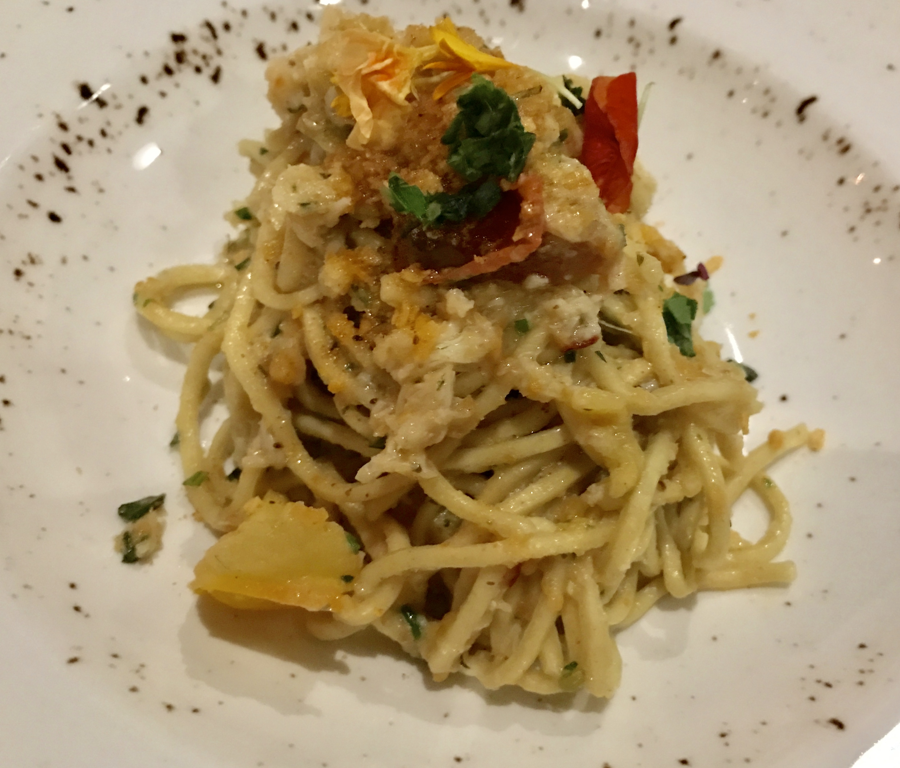 Stillwaters Tavern - Maryland Style Blue Crab Spaghetti