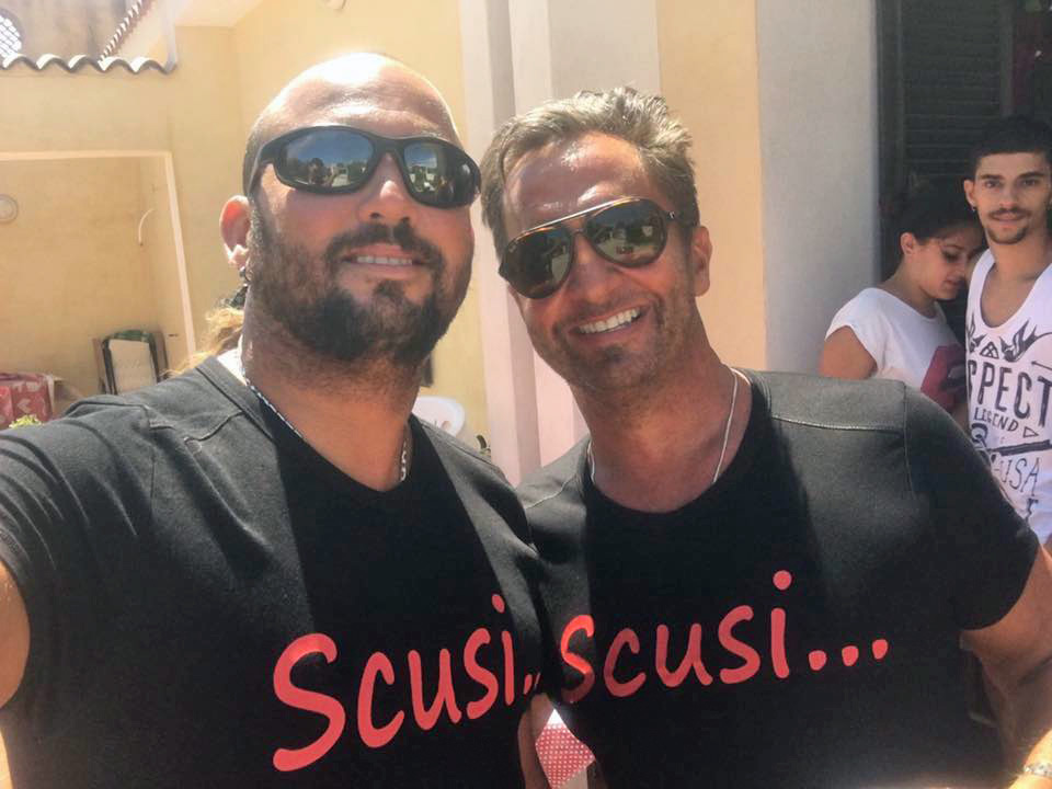 Tony Mangiafico & Greg Haddad on Vacation Last Year in Italy