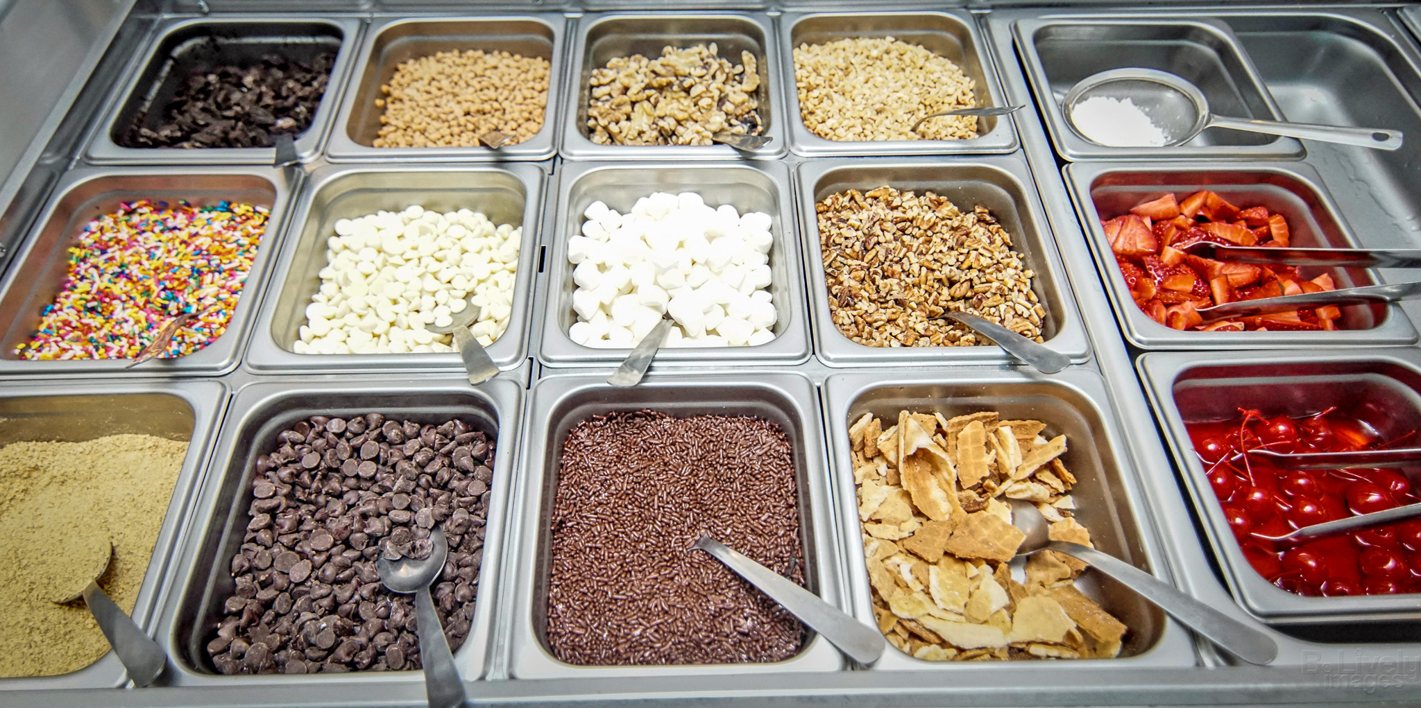 Urban Creamery Toppings