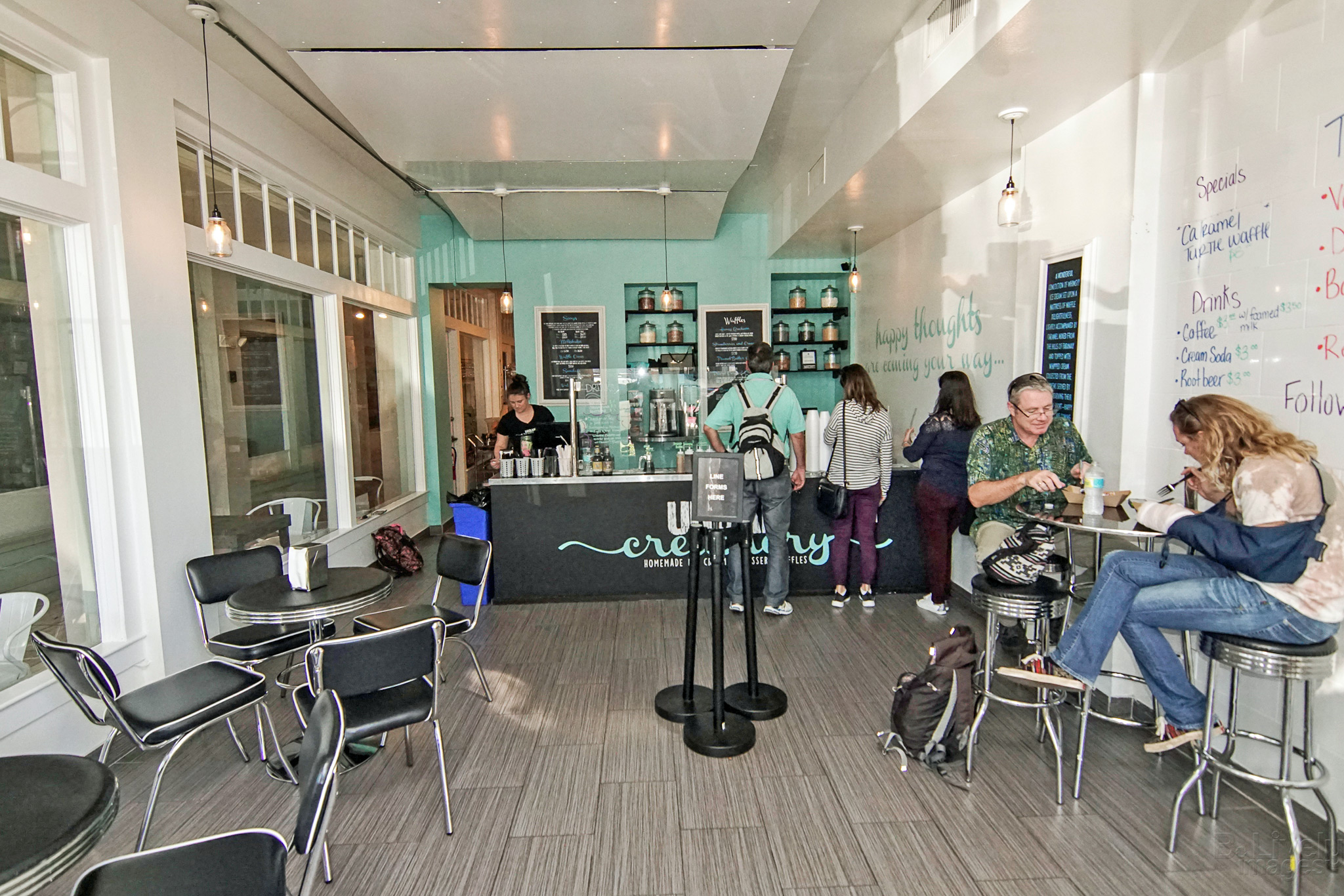 Urban Creamery Interior