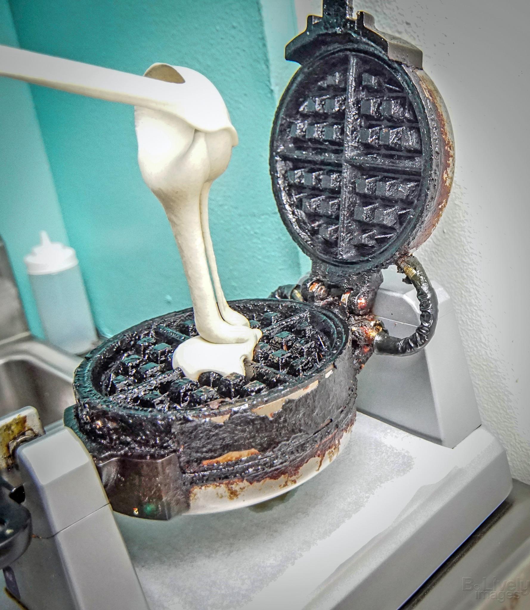 Urban Creamery Waffles