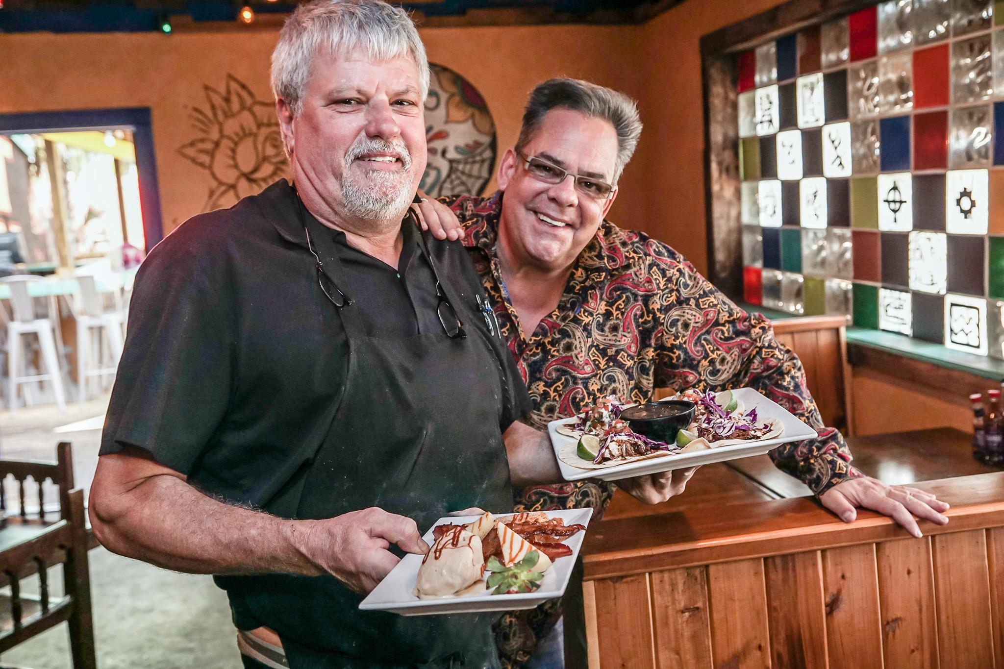 Executive Chef Paul Daubert and GM / Co-Owner Louie Spetrini