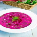 Cold Beet Borscht Recipe