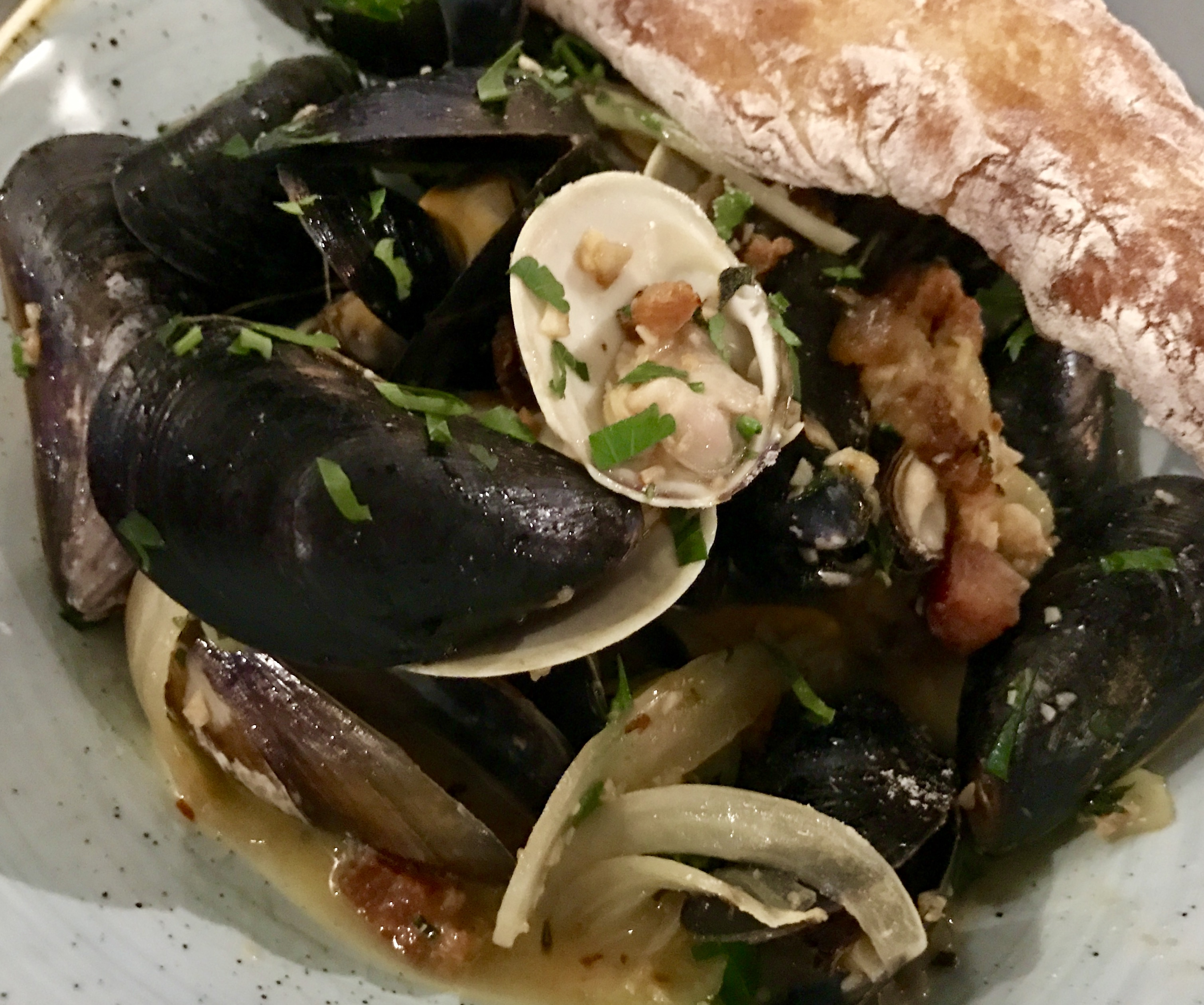 The Reading Room: Clams & Mussels