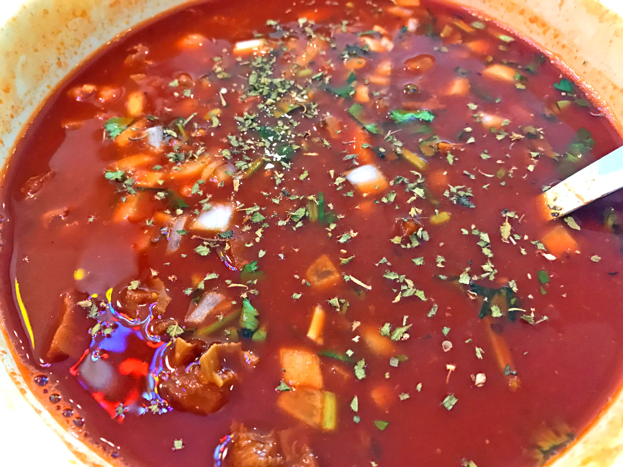 Authentic, Spicy & Delicious Menudo at Carmelita's