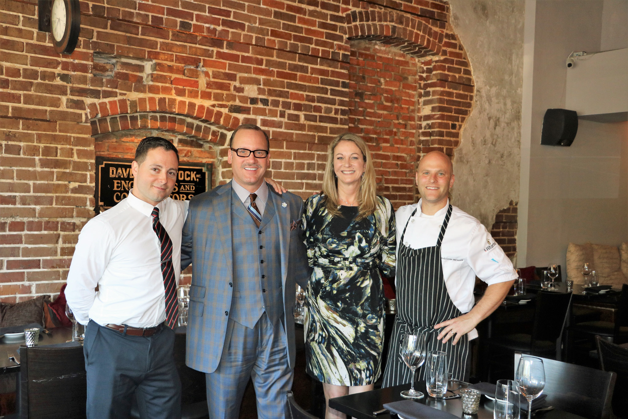 IL Ritorno - GM Ronald, Kevin, Lori and Chef Dave