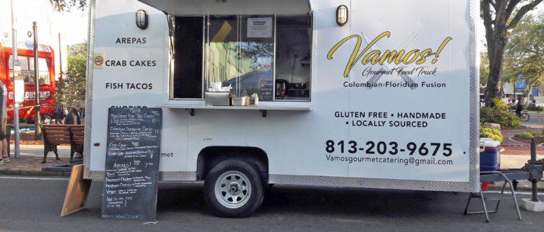 Vamos Gourmet Tampa Food Truck Brings Colombian-Floridian Fusion to St. Pete