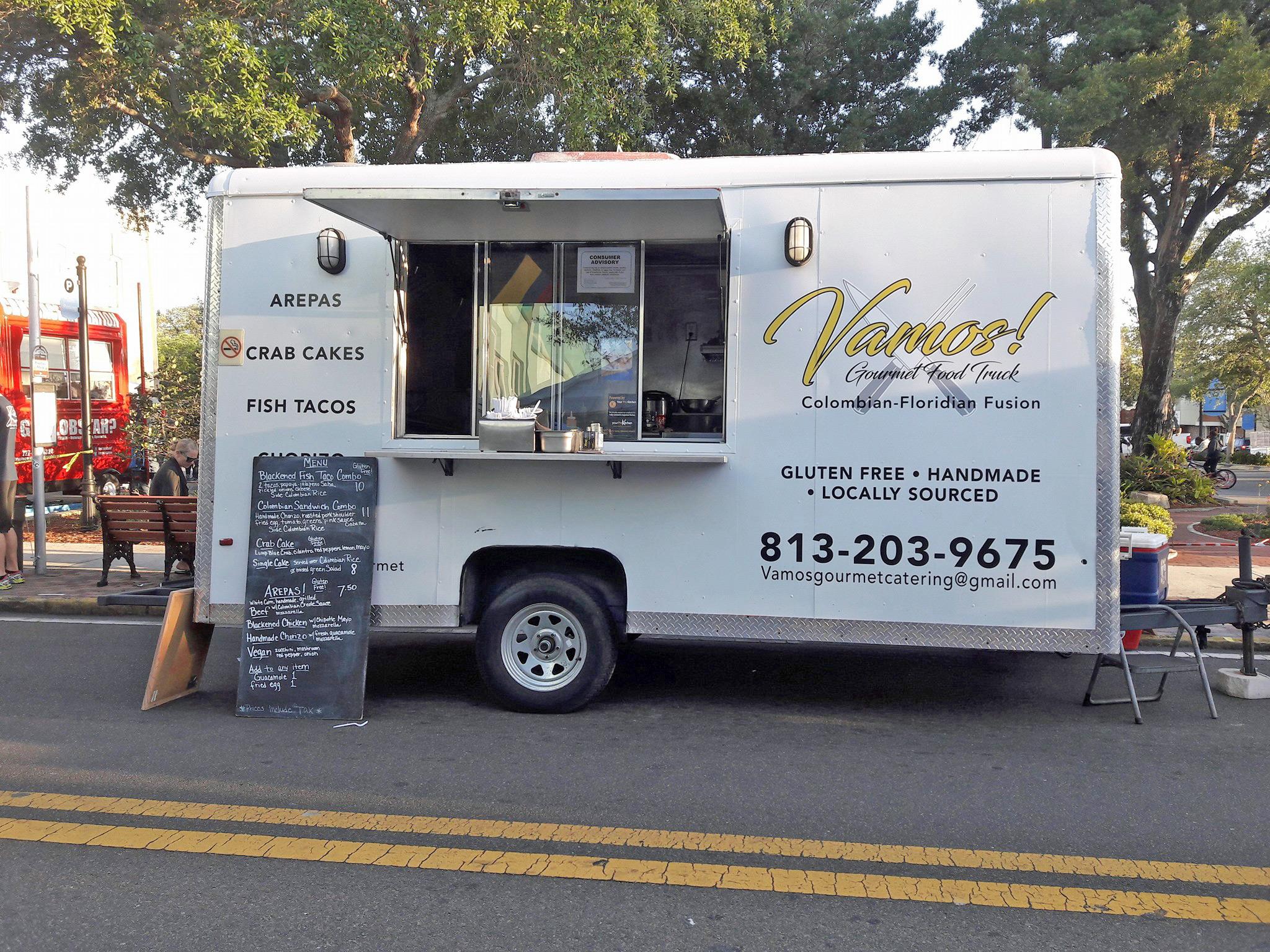 Vamos Gourmet Tampa Food Truck