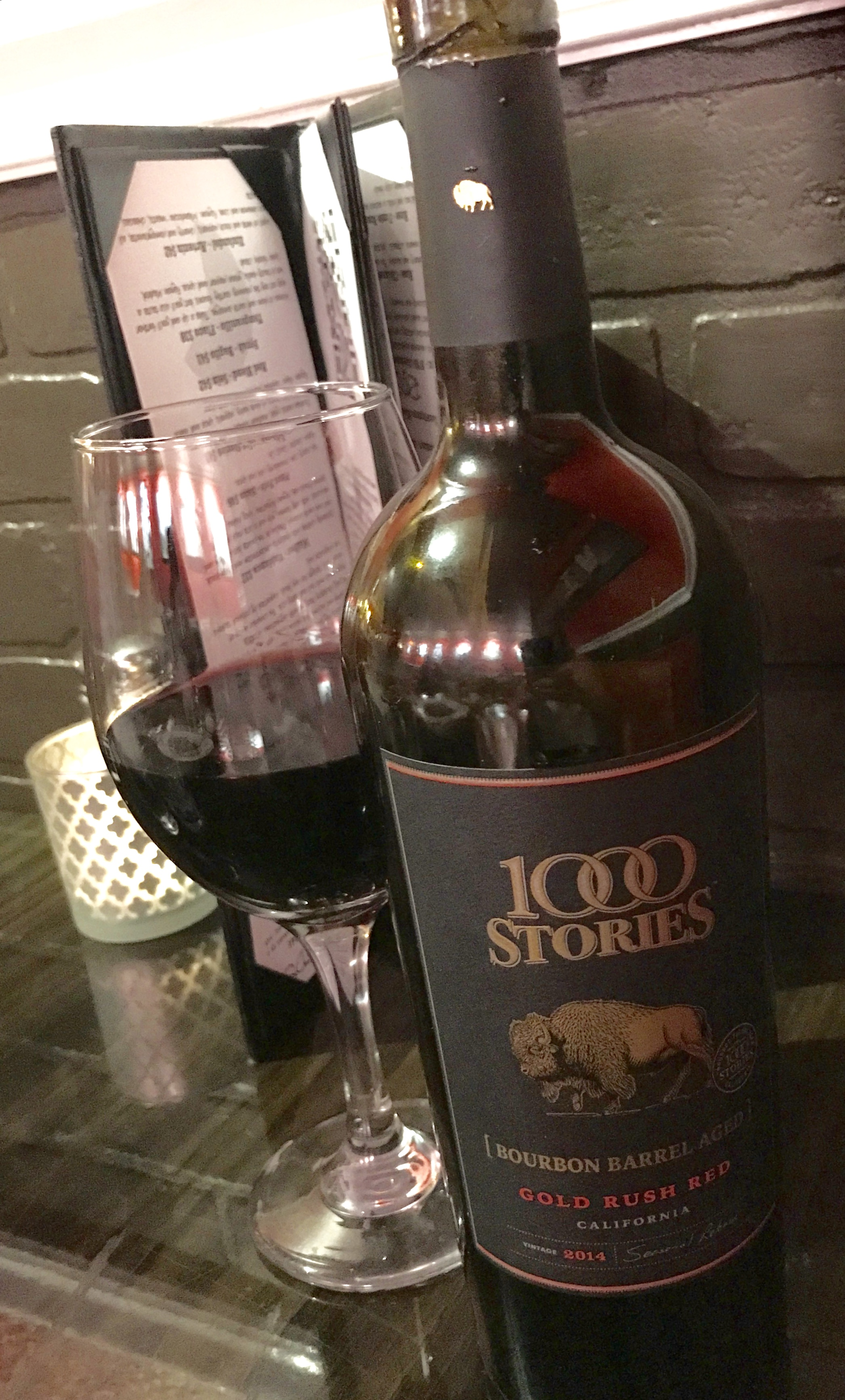 Beau n Mo's Italian Eating House 1,000 Stories Red Wine Blend