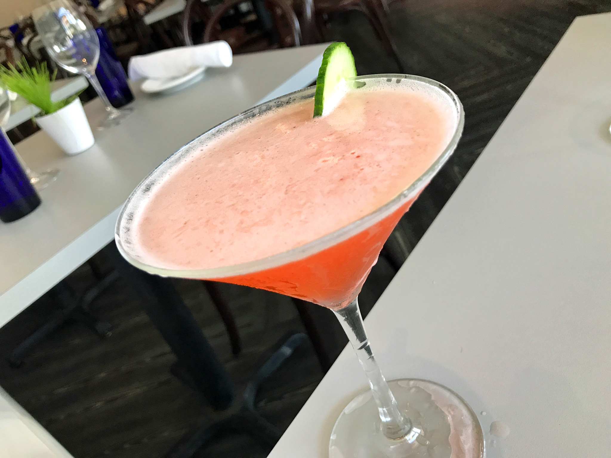 Hollyberry - Milagro, Cucumber, Limeade, Strawberry Shrub