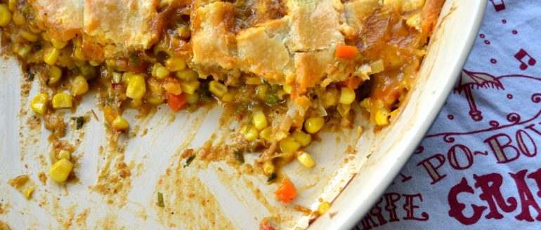 Corn and Crawfish Pie…
