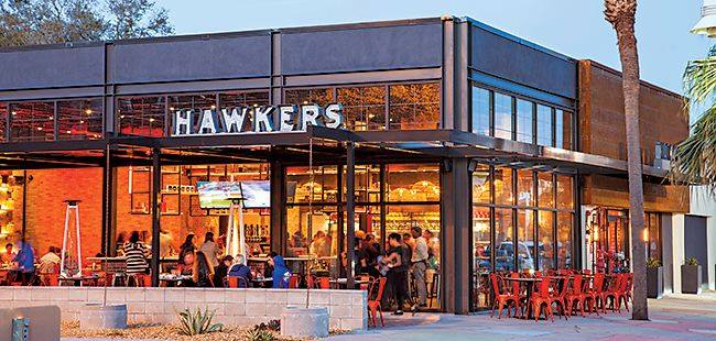 Hawkers Happy Hour