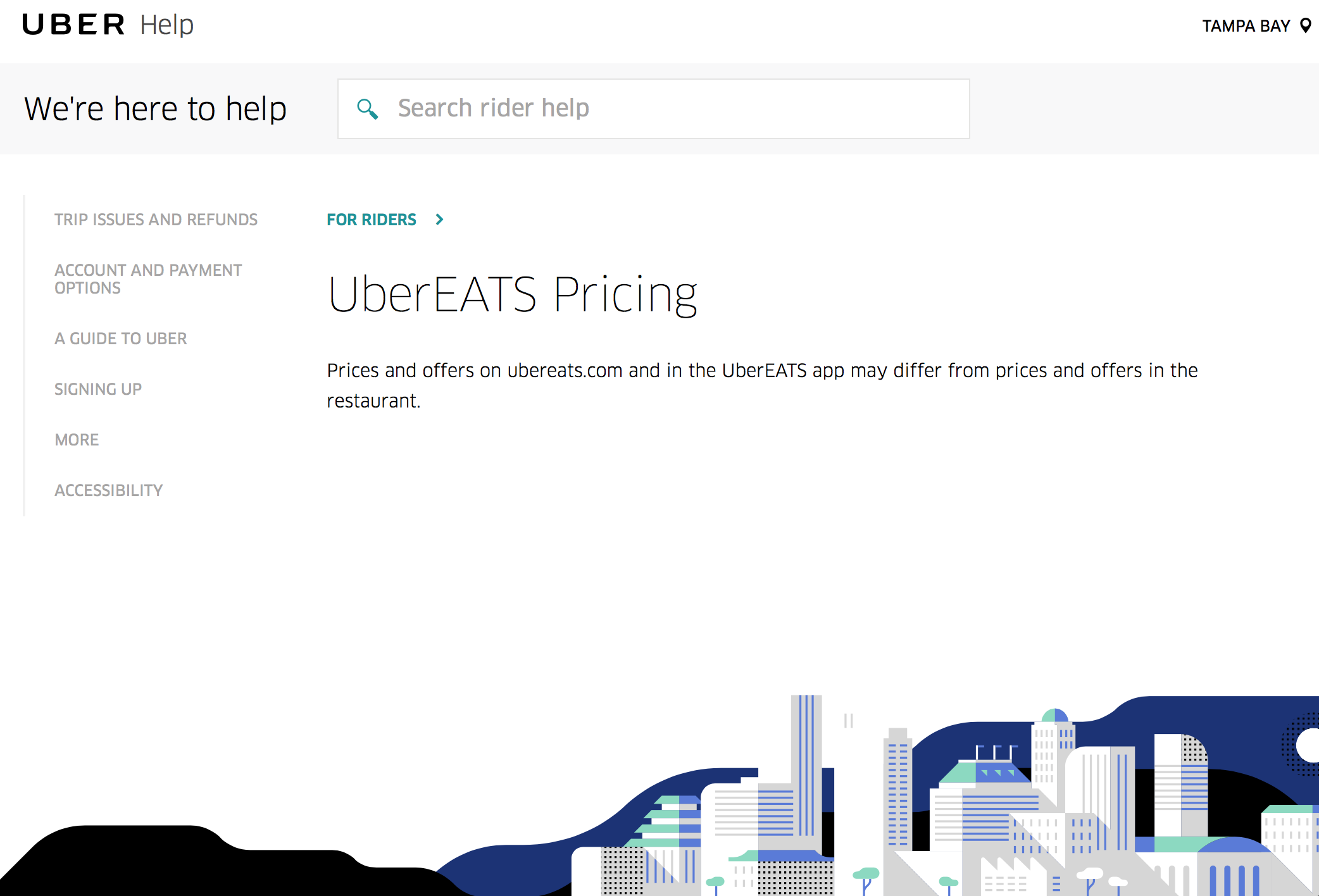 UberEats Pricing