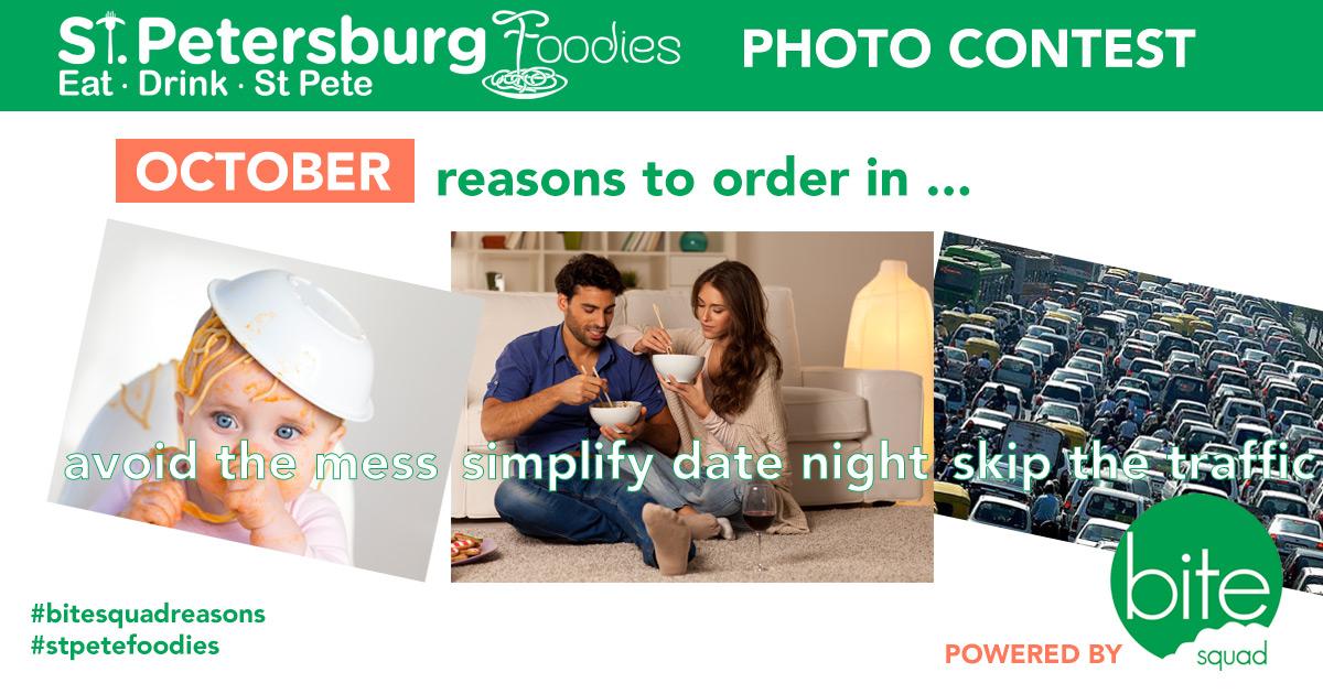 Bite Squad & St. Petersburg Foodies Launch Photo Contest