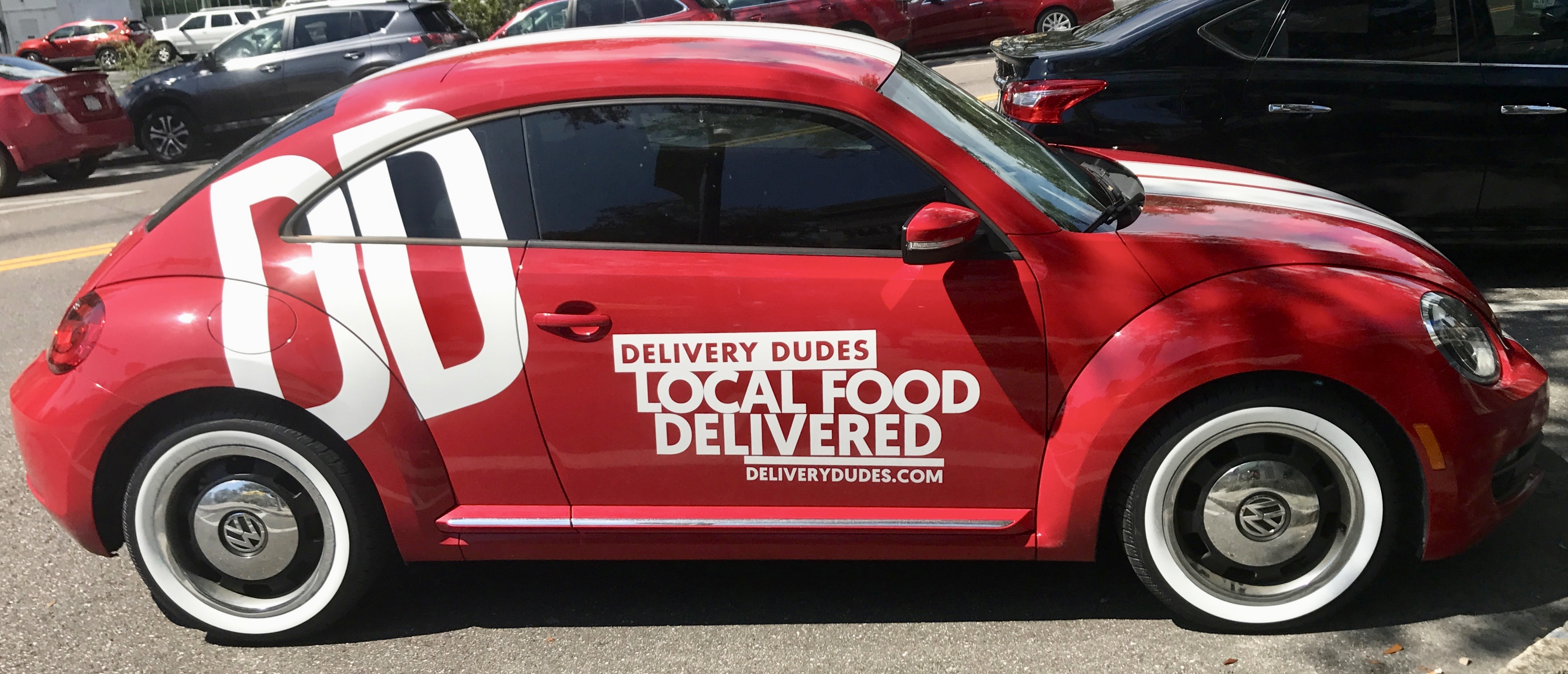 Delivery Dudes Car