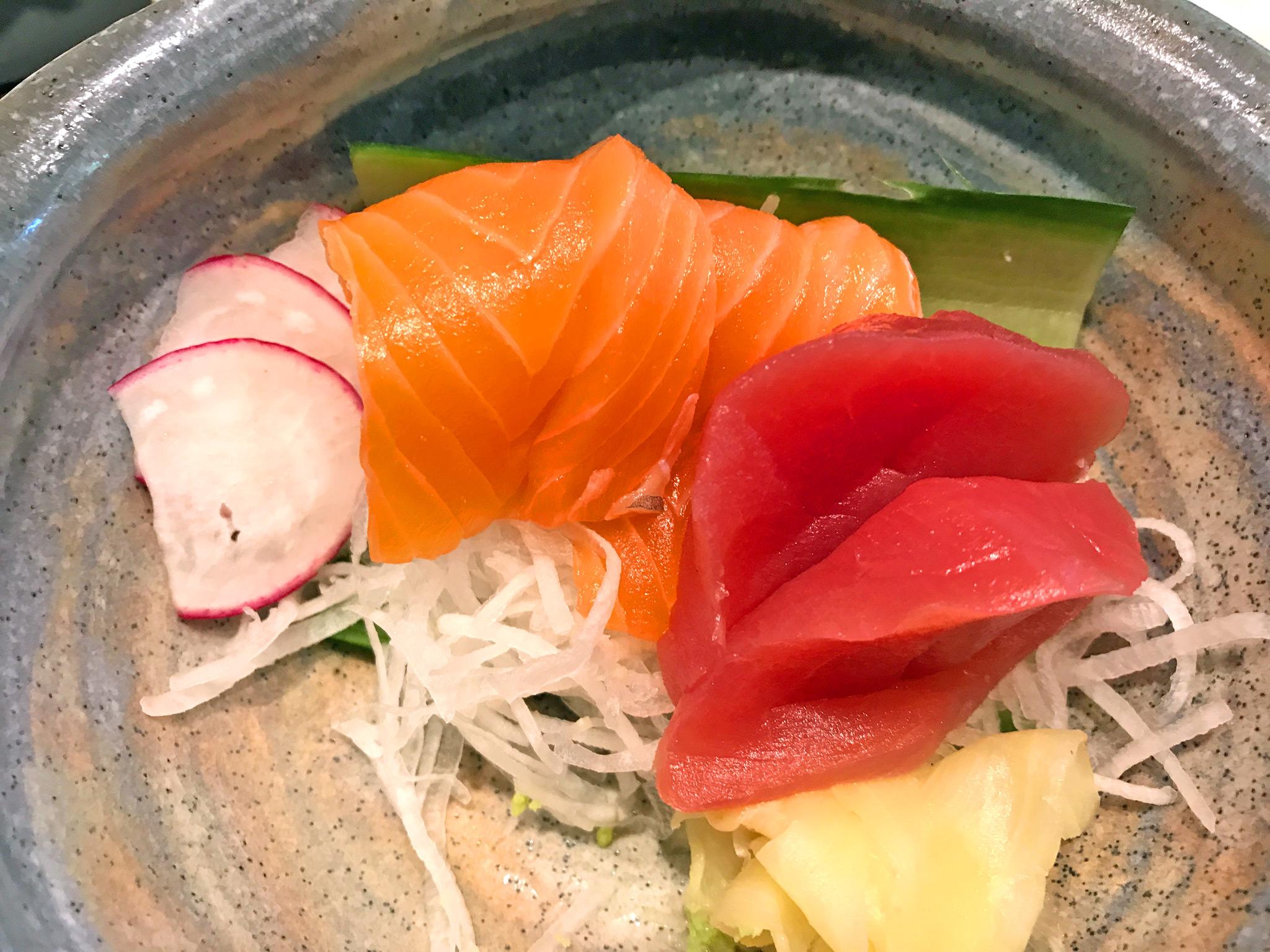 Souzou's Sashimi - Tuna & Salmon
