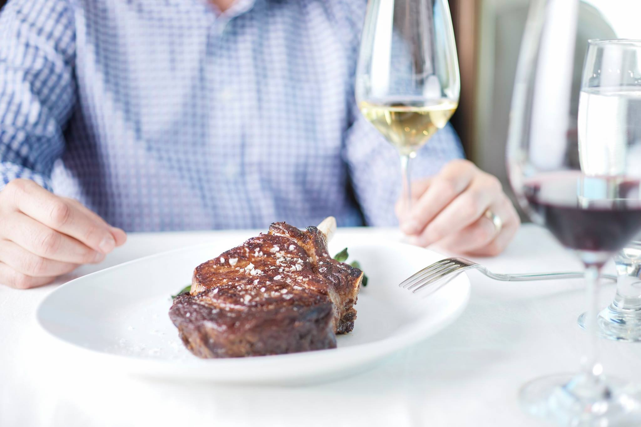Rococo Steak and wine