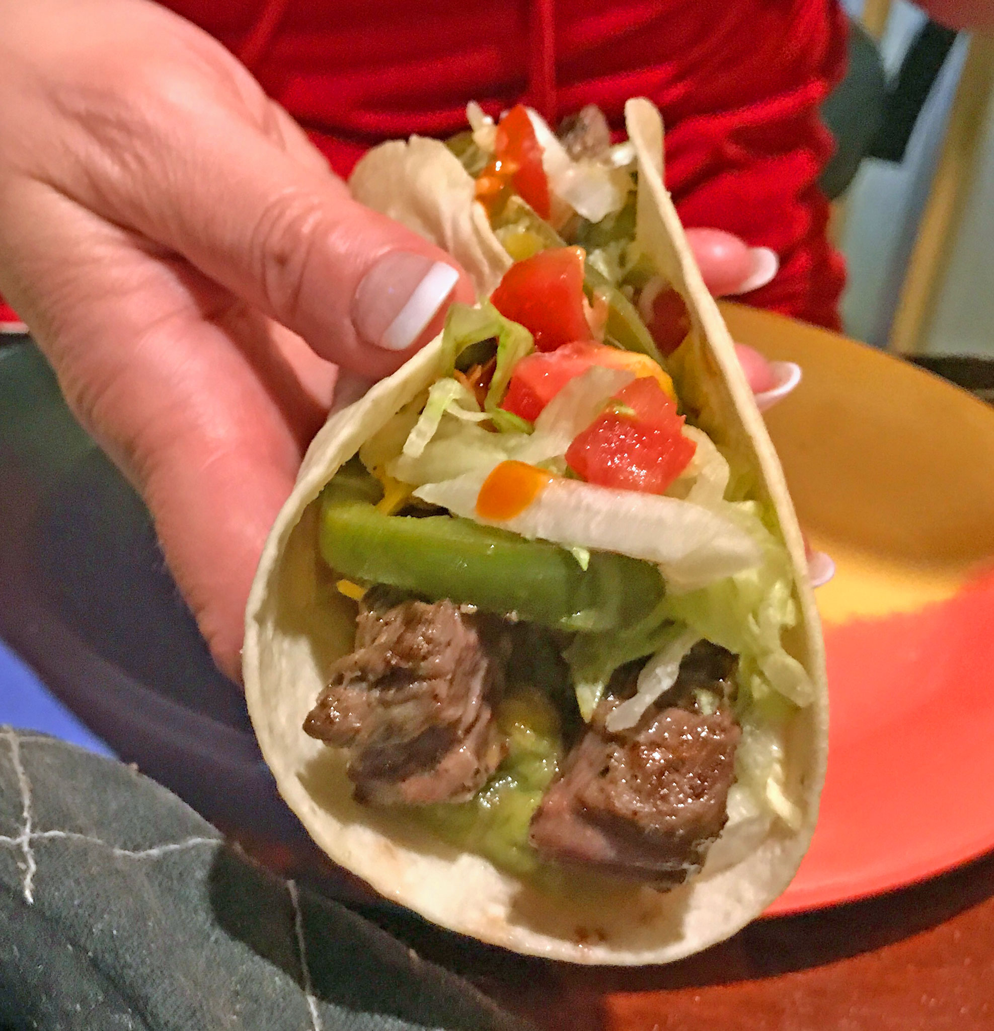 """Fajita Taco"" - Open Wide!"