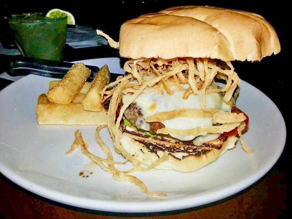 Red Mesa Cantina Sirloin Chorizo Burger