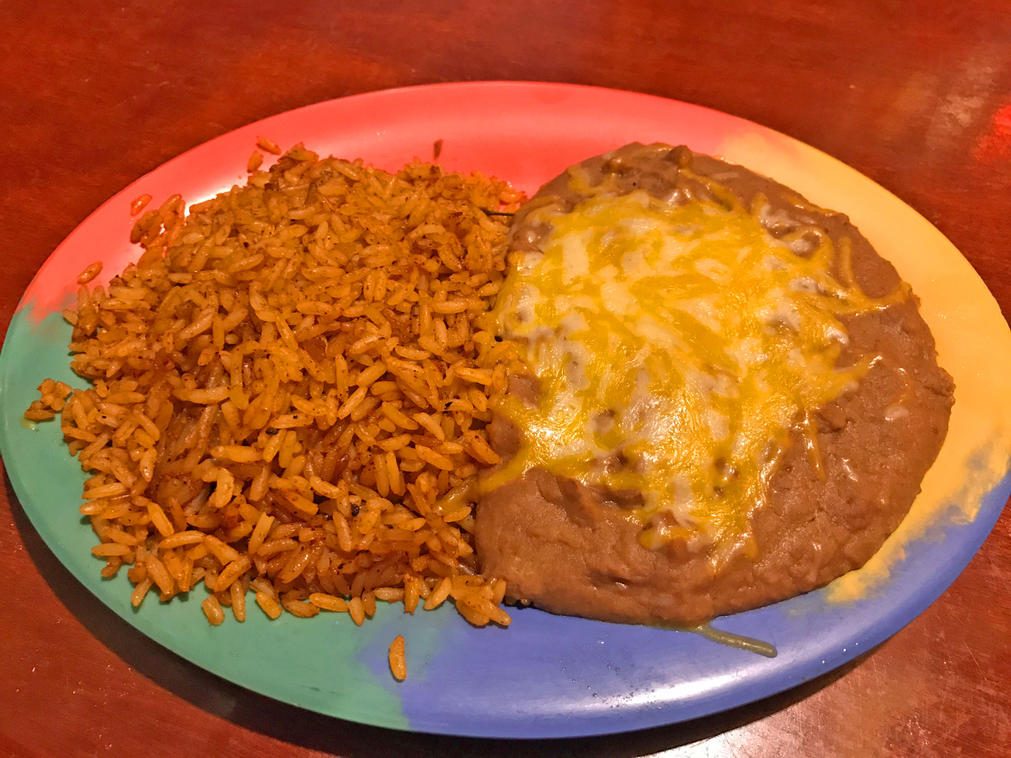 Mexican Rice & Refried Beans
