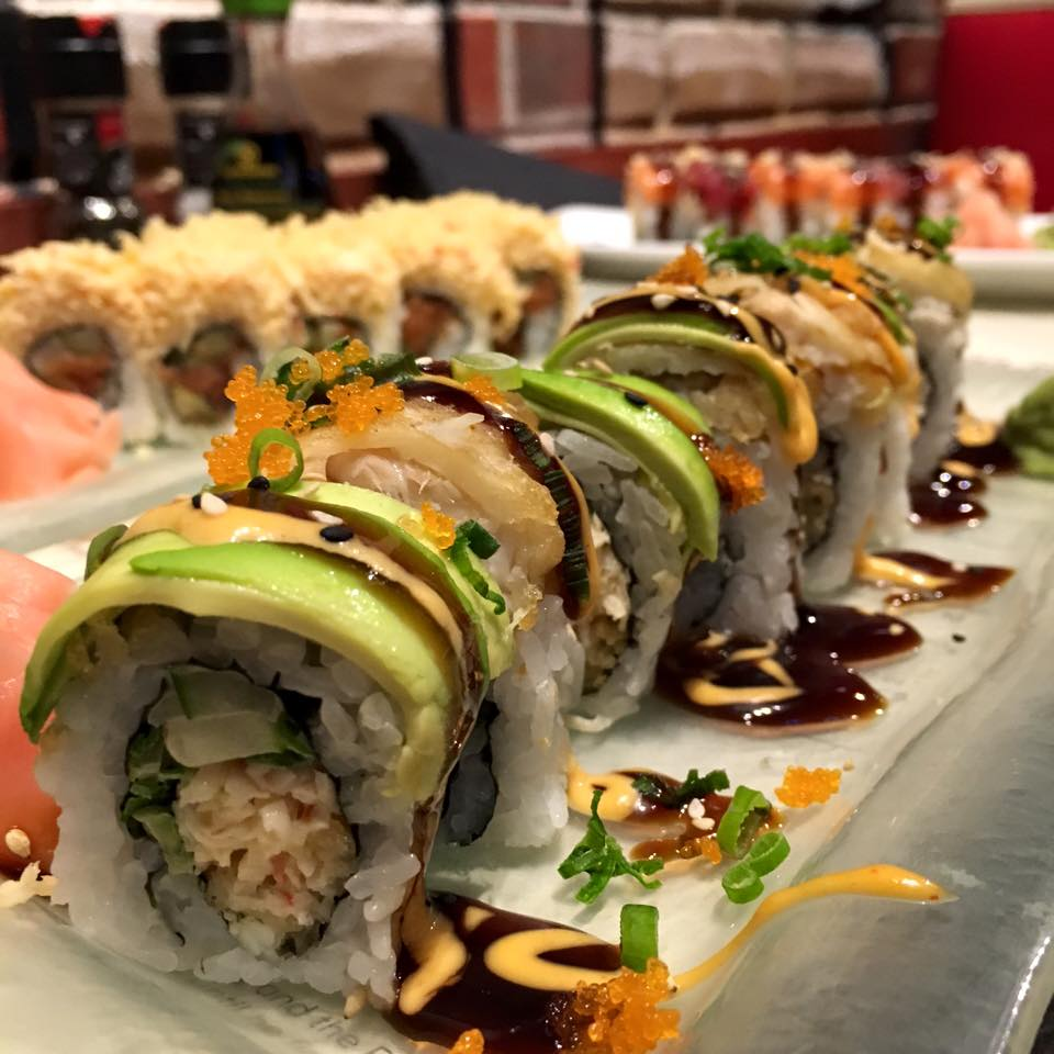 The Lure Sushi Rolls