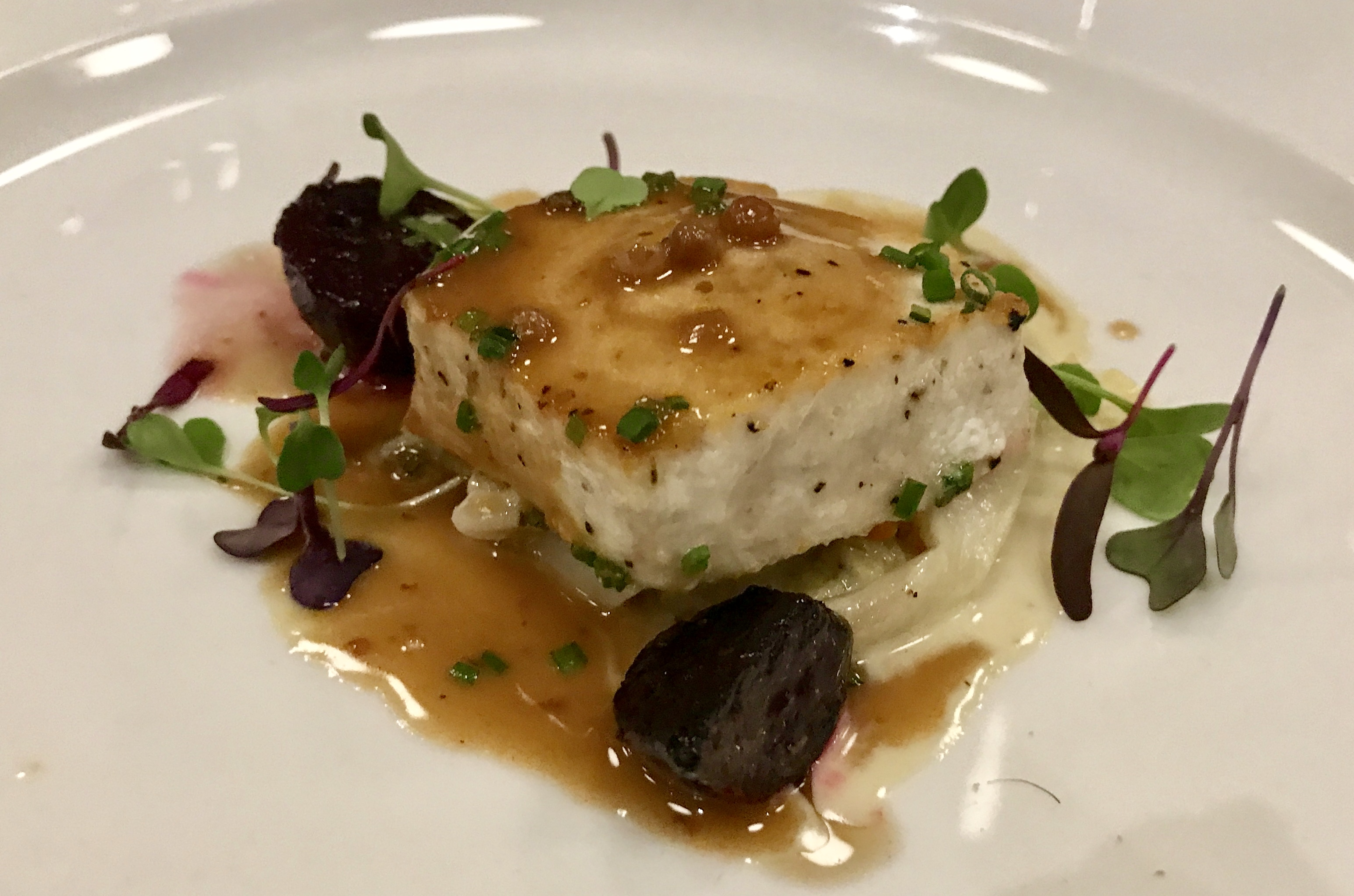 "Sea Salt - Swordfish ""Au Poivre"""