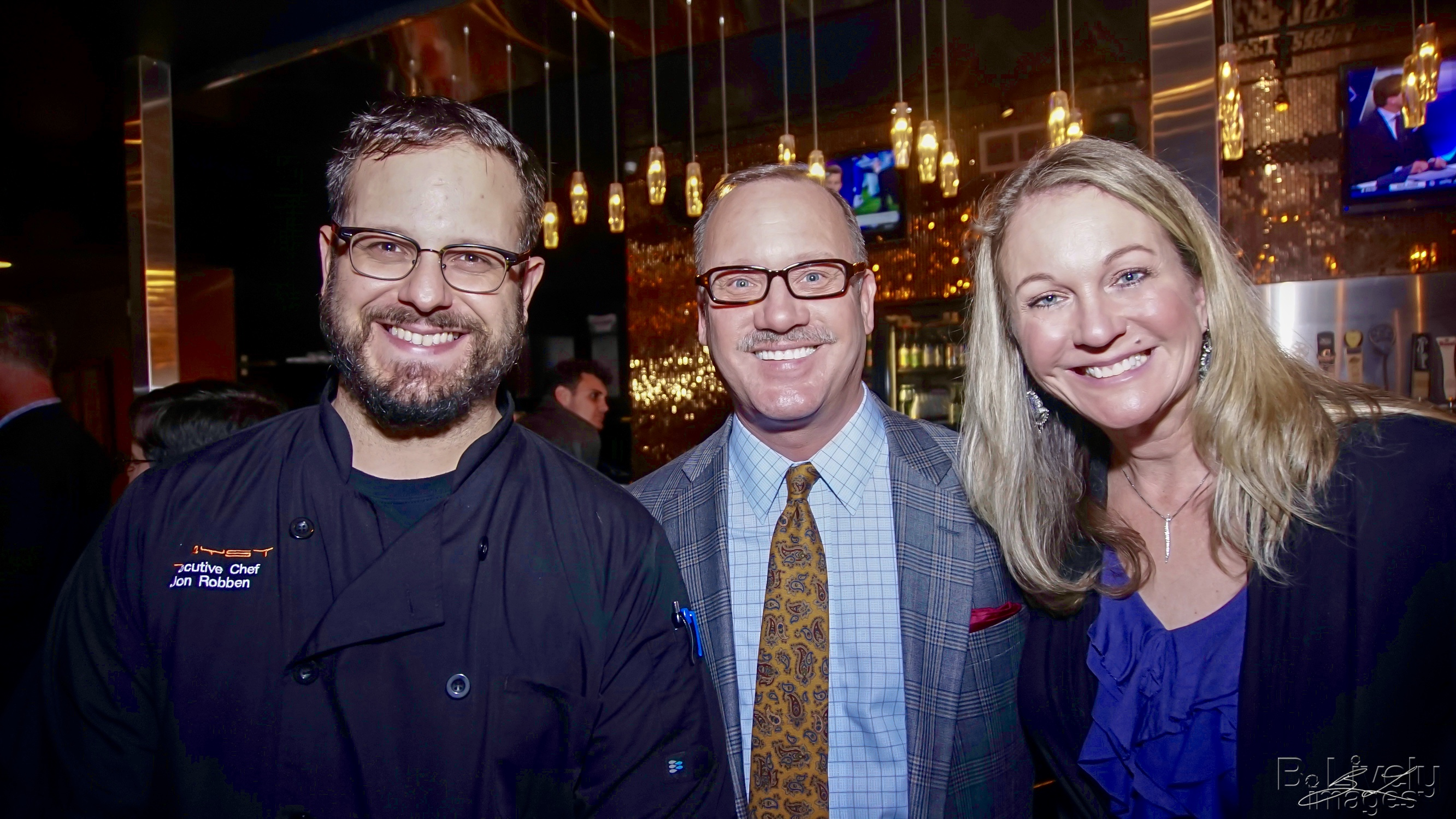 Chef Jon, Kevin & Lori - Tryst Event