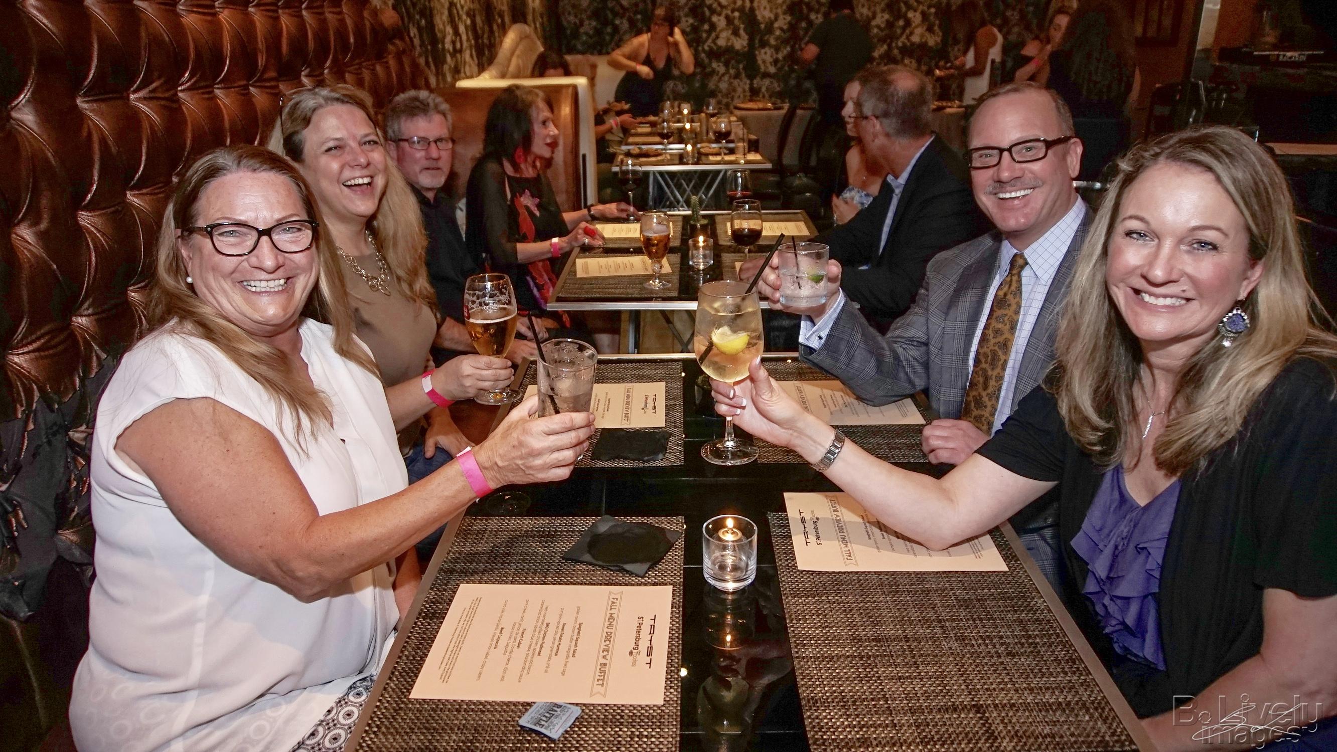 Karen, Nola, Warren, Kevin & Lori - Tryst Event