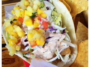 Jimmy Hulas Baja Fish Taco