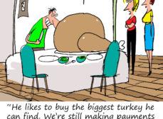 This Turkey Serves 100 People