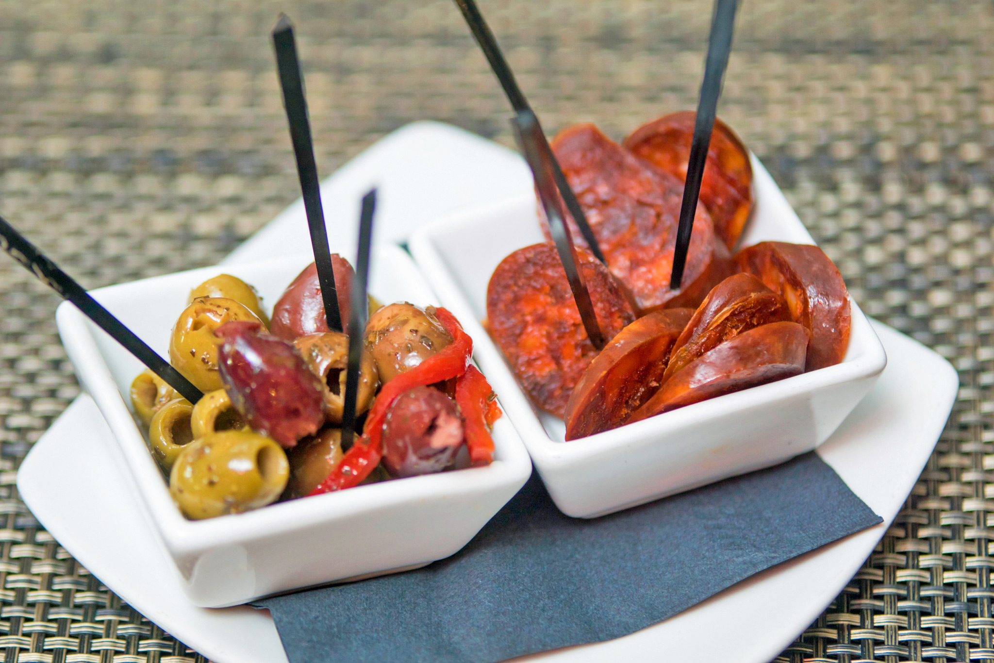 Chorizo, Olives and Toothpicks...