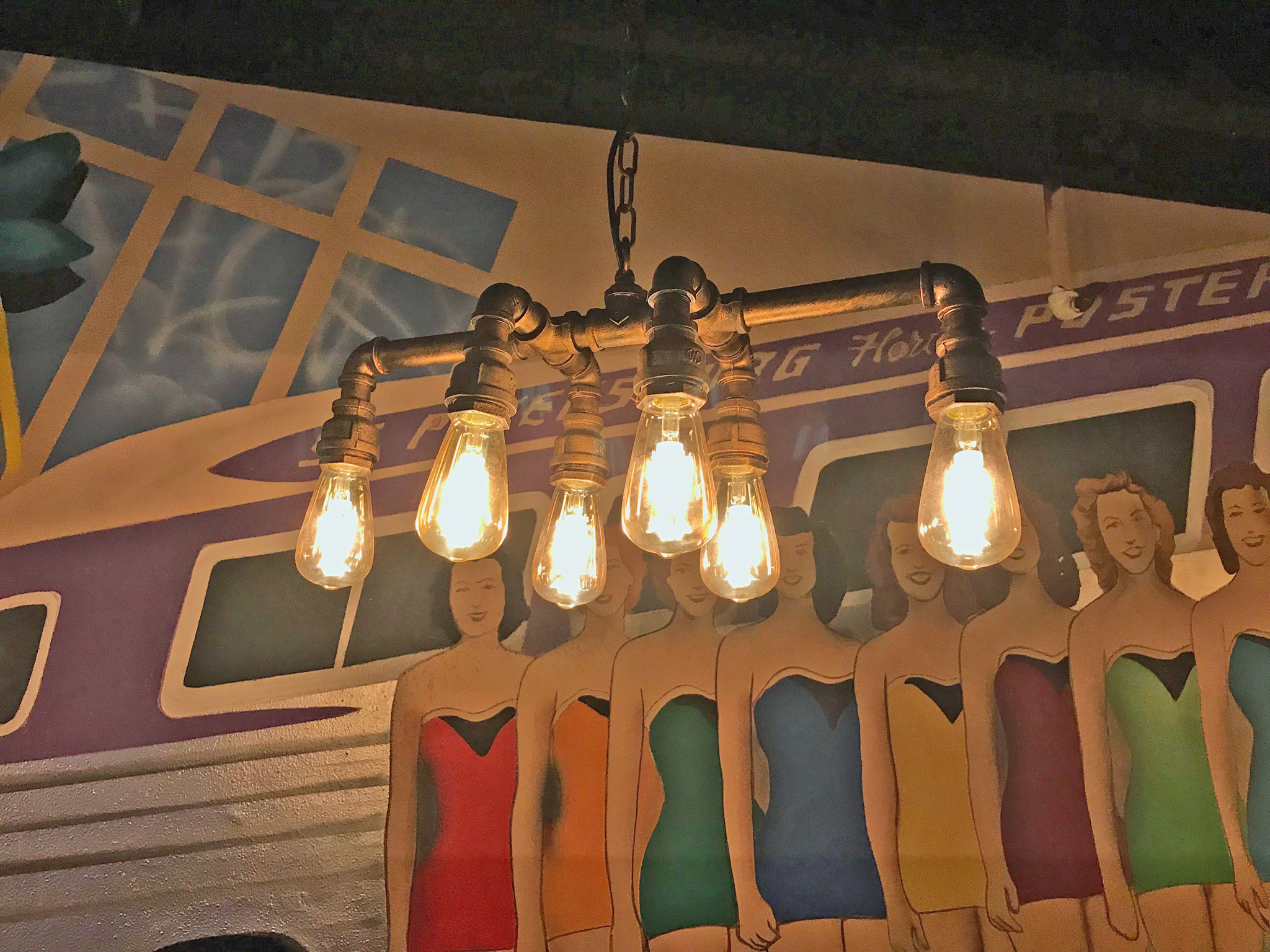 Creative Light Fixture at The Hive