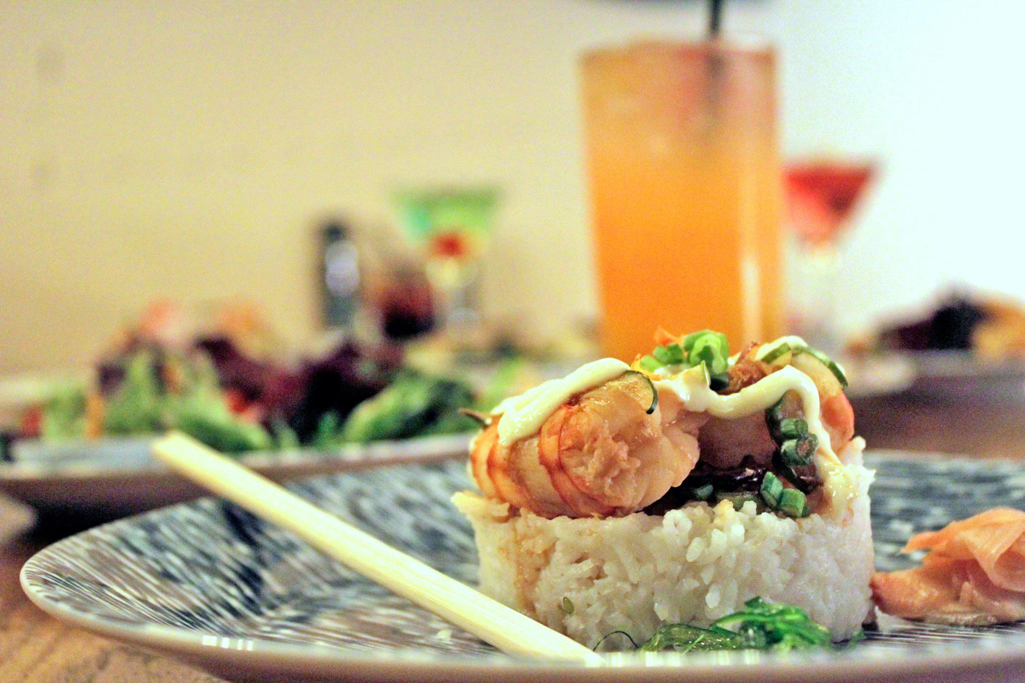 Shrimp Poke Appetizer