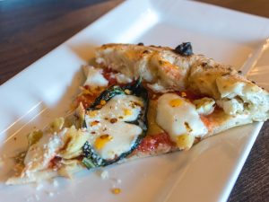 Slice of Prisoner's Pizza at Midici Tyrone