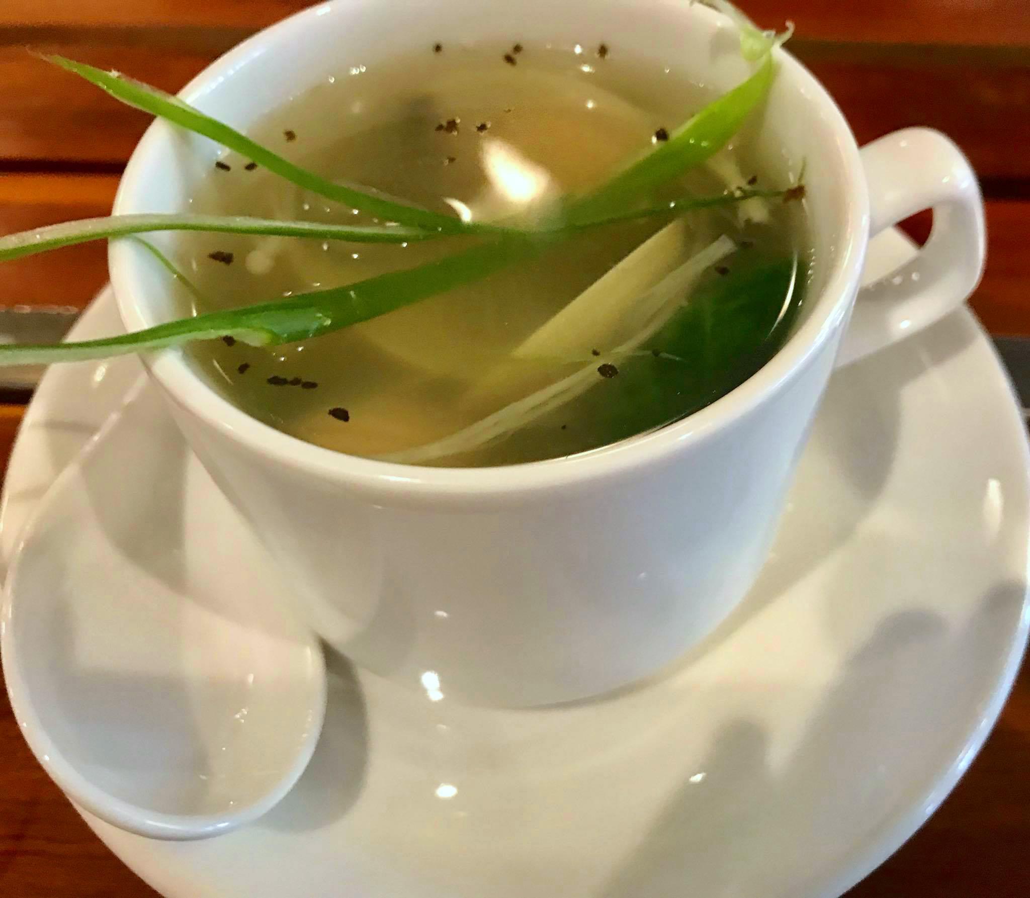 Spring Clams Soup